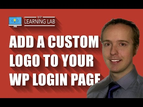WordPress Login Page Logo