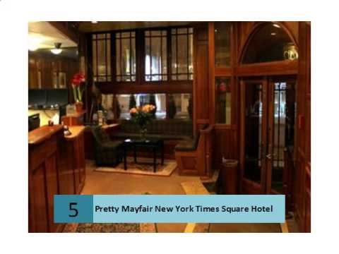 Pretty Mayfair New York Times Square Hotel