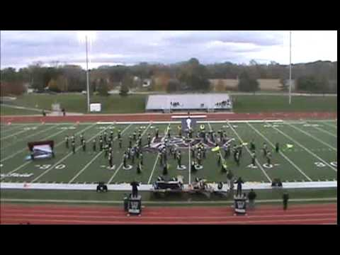 Westland High School Marching Band at Canal Winchester High School 10-18-2014