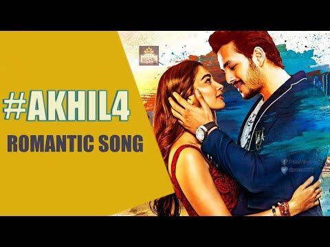 #Akhil4 Movie Romantic Song Update   Akhil Akkineni   Pooja Hegde   Movie Mahal