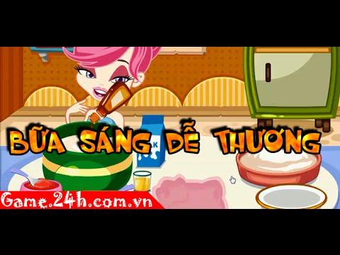Game bữa sáng dễ thương - Video hướng dẫn Game.24h.com.vn