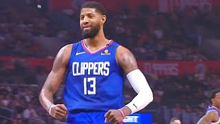 Paul George Is Not Human In Return With Robotic Kawhi Leonard! Clippers vs Timberwolves