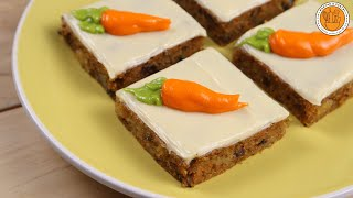 BEST EVER CARROT CAKE | Petit Fours | Ep. 121 | Mortar and Pastry