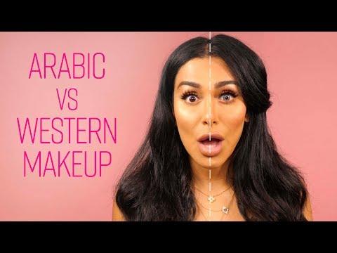 Arabic VS American Makeup
