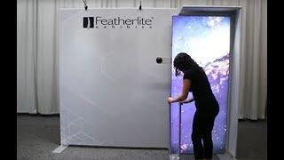 Radiant Portable Backlit Trade Show Exhibit Setup