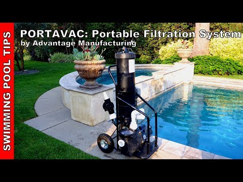Thumbnail: PORTAVAC: Portable Filtration System by Advantage Manufacturing - Overview