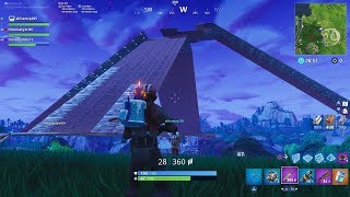 Building Pyramid in FORTNITE with subscribers|FAST FORWARD SPEED| Playground mode |