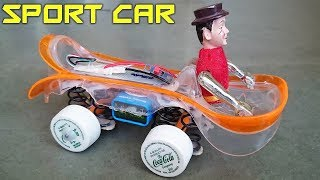 How to Make a Jumping Car with Suspension at home