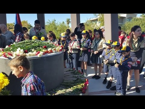 Armenian Genocide Memorial Dedicated at Sunset Park