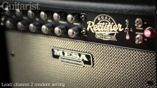 Mesa Engineering Recto-Verb Twenty-Five guitar combo amp review demo
