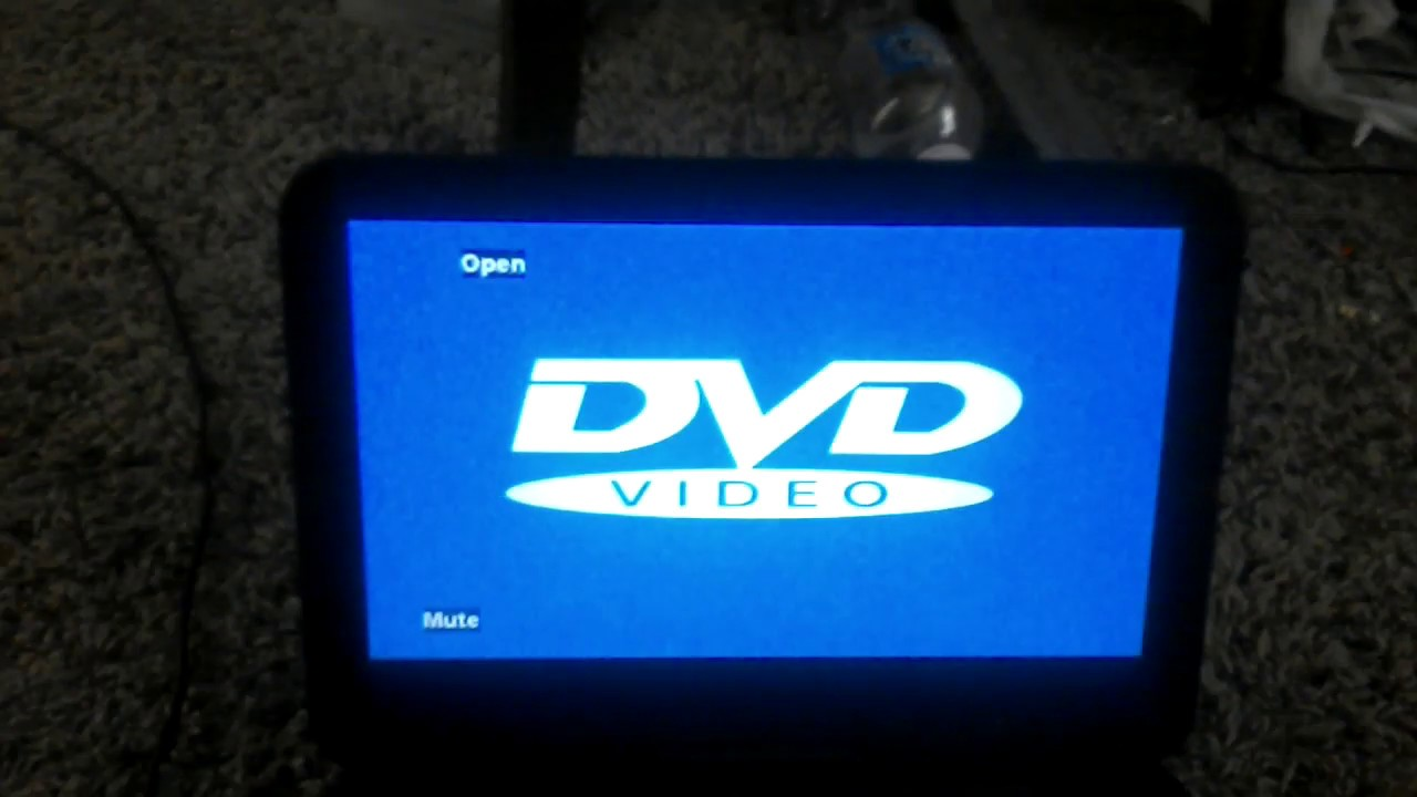 Onn Portable Dvd Player Review Part 1 Youtube