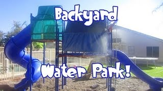Cool Backyard Water Park