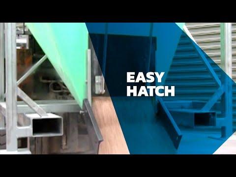 Simple, easy JACKY Bin hatch
