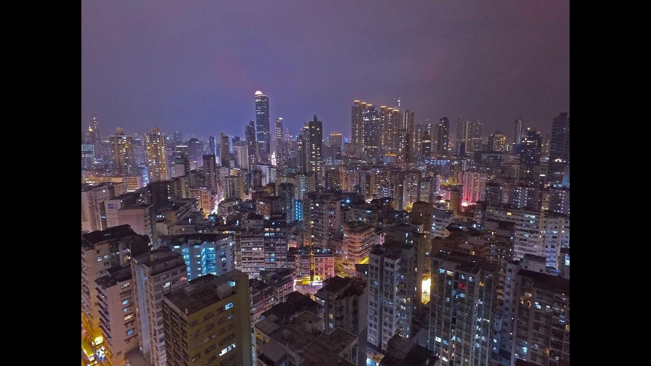 香港夜景航拍 - YouTube
