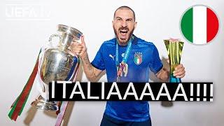 BONUCCI, CHIESA, DONNARUMMA   ITALY'S winning story at EURO 2020