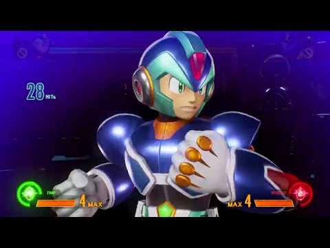 Marvel vs Capcom: Infinite Megaman X Combo Montage