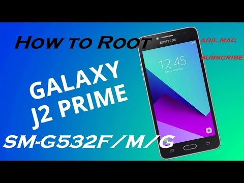 ROOT Samsung Galaxy J2 PRIME SM-G532G/M/T/F Android 6.0.1