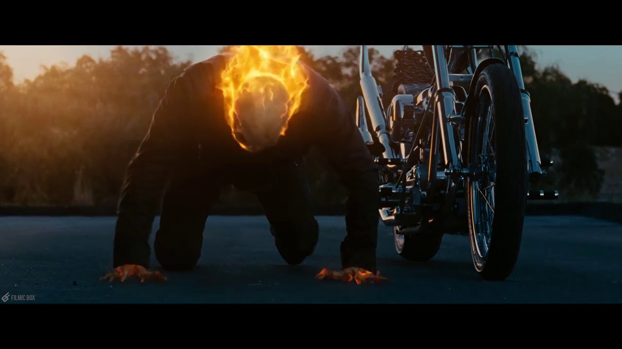The Penance Stare Scene Ghost Rider 2007 Movie Clip