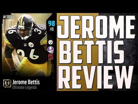 How Good is 97 Overall Jerome Bettis? MUT 18 Card Review
