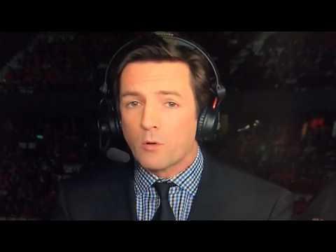 Patrice Brisebois à TVA Sports : C'est jamais facile (27 avril 2015)