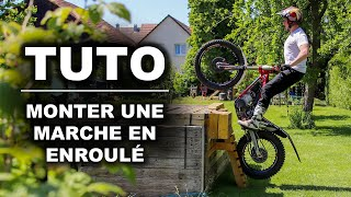 HOW TO EASILY CLIMB A STEP ON MOTO TRIAL  ✈️ !