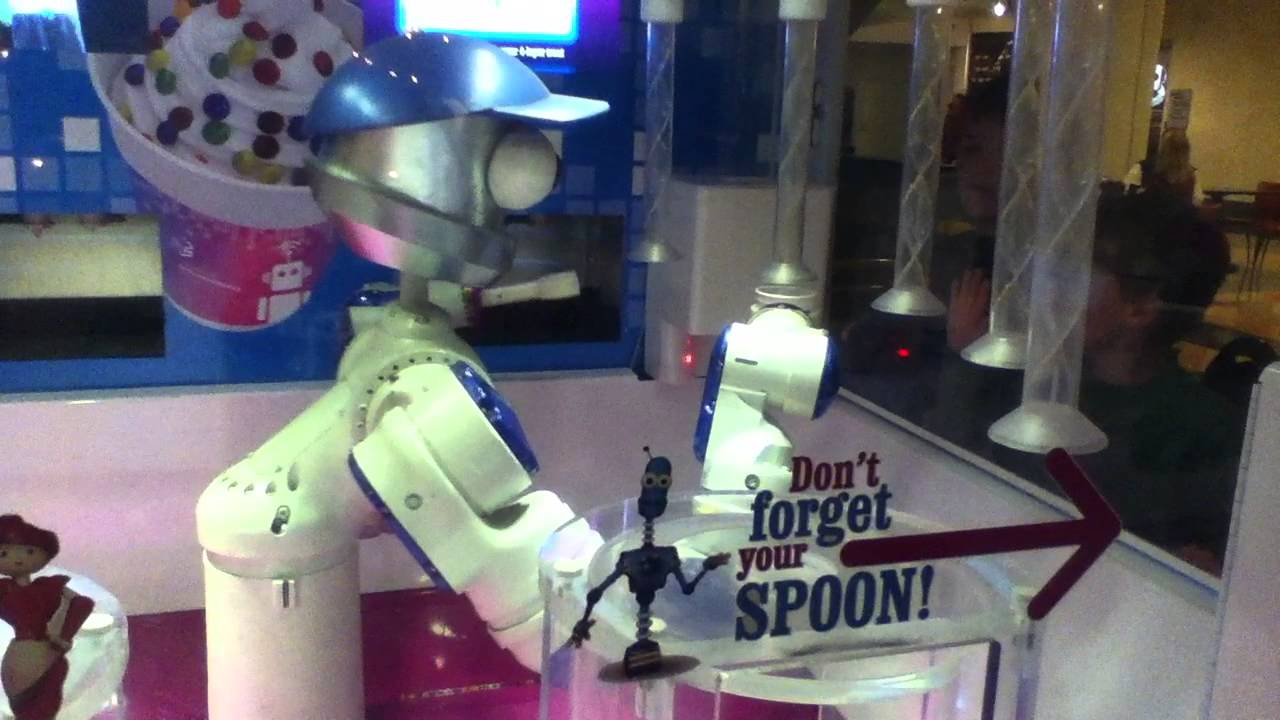 Robot making ice cream youtube - Robot coupe ice cream maker ...