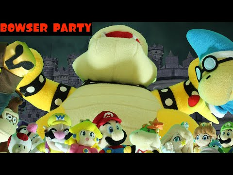 Super Plush Mario: Bowser Party