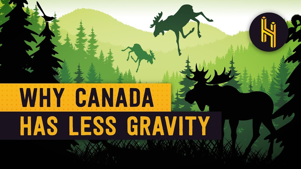 Why There S Less Gravity In Hudson Bay Canada