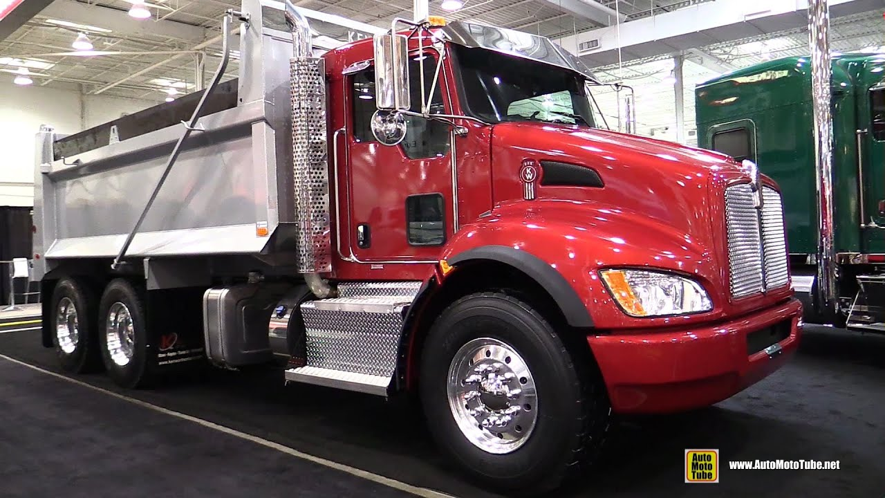 2016 Kenworth T370 PX9 20K 40K Dump Truck - Exterior and ... Kenworth Dump Trucks Pics