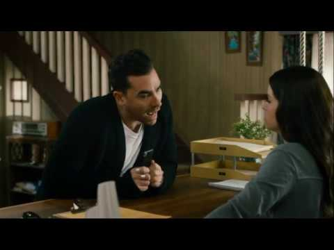 Every time David Rose enters and exits the Motel Office - Schitt's Creek