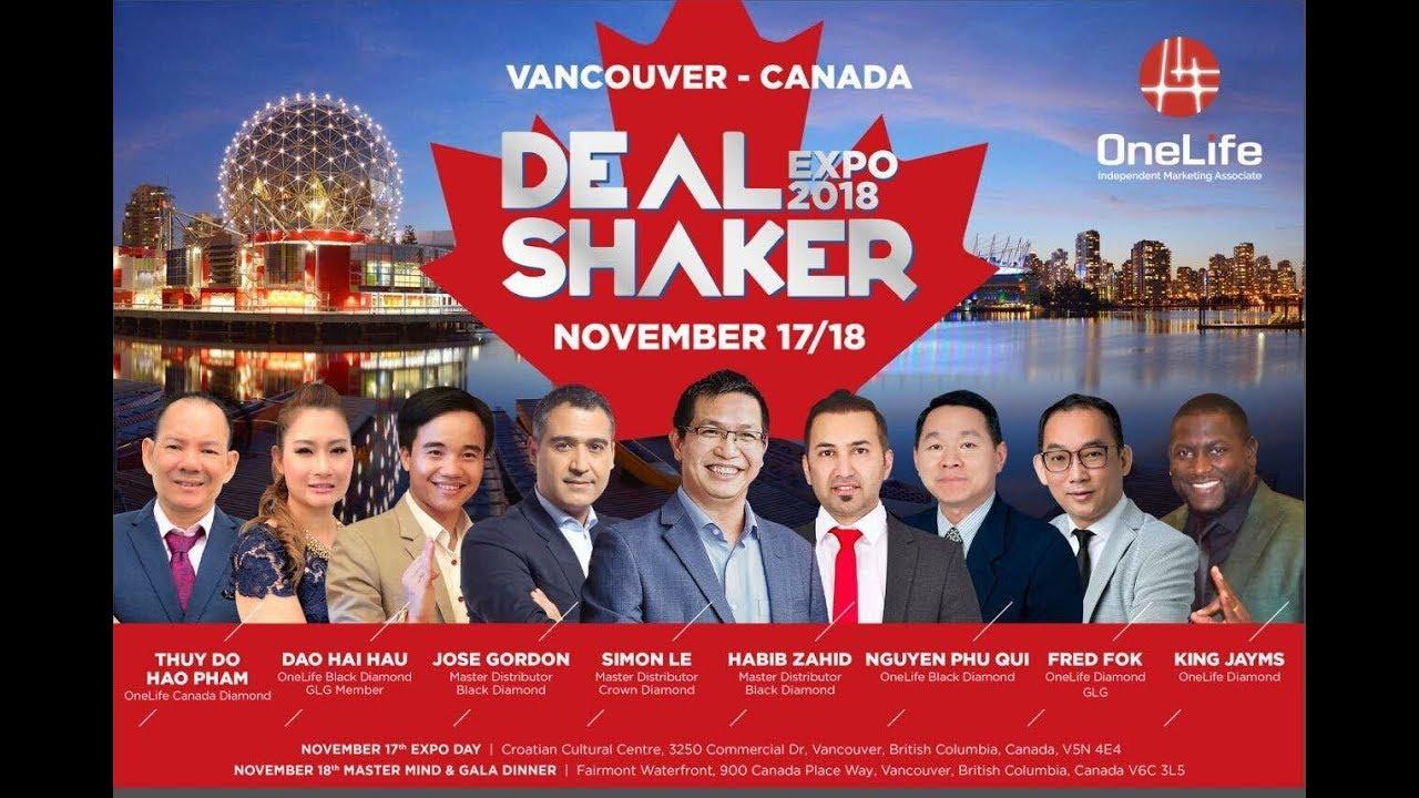 カナダ 2018 ディールシェーカー EXPO #ワンコイン仮想通貨