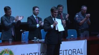 Diplomação dos eleitos para mandato 2017-2020