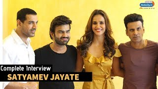 Satyamev Jayate Star Cast Complete Interview with RJ Harshil | | John Abraham | Manoj Bajpayee