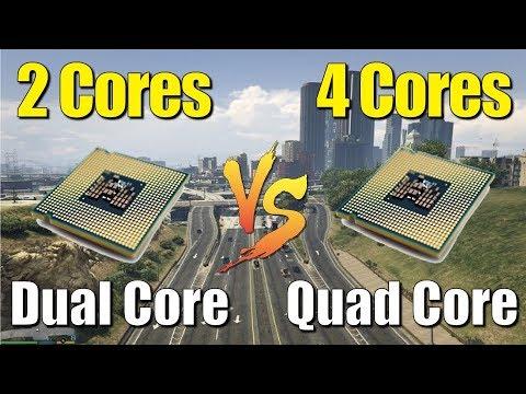 Dual Core vs Quad Core CPU Comparison