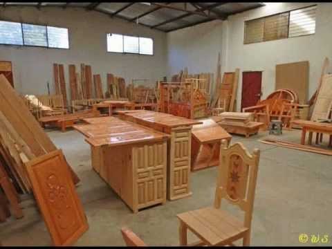 Jonacatepec col san gabriel muebles coloniales wmv for Muebles coloniales