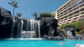Maui Ocean Club Pool and Beach (GoPro)