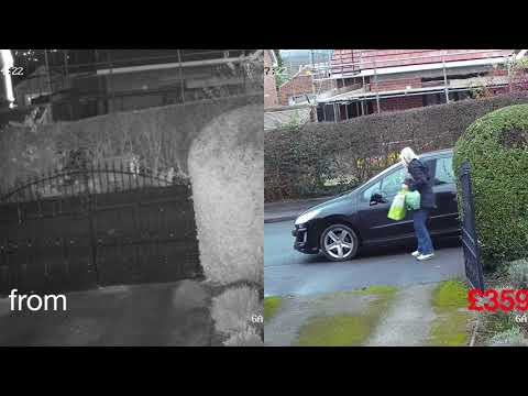 Home CCTV in high definition covering the Leeds area.