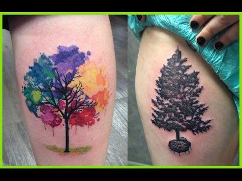 Mejores Tatuajes De Arboles Youtube