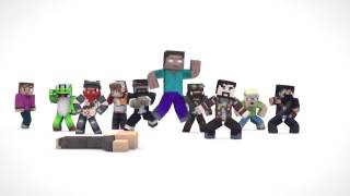 EVERYBODY DO THE FLOP Minecraft Version 10 minutes!