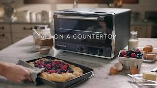 Introducing The New Kitchenaid Digital Countertop Oven Youtube