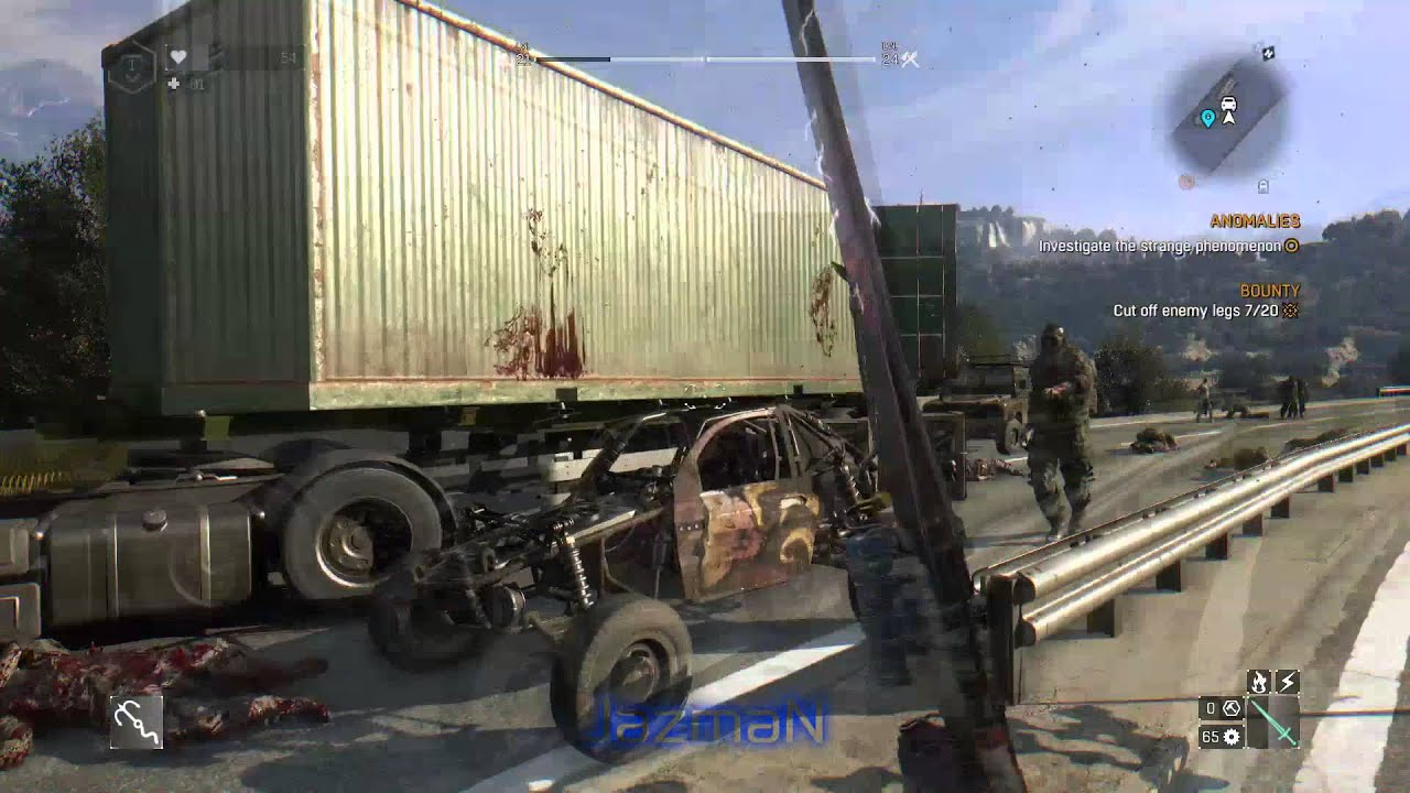 Dying Light: The Following   All Experimental Military Buggy Parts
