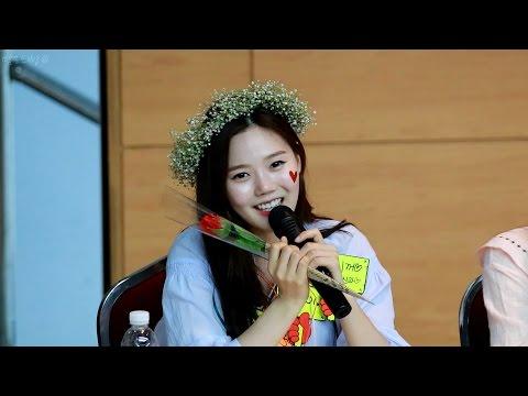 160514 오마이걸 (Oh My Girl) 효정 B612 노래 (HyoJung B612 Song) - 대구 팬사인회