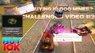 Tanki Online - Buying 10 000 Mines?! Challenges Video №3