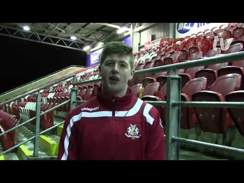 Jordan Ritchie (Community Relations Officer) speaks to Ports TV