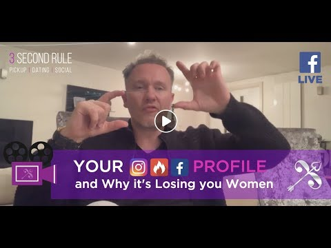 Live 🎥: Are You Losing Women because of a sh*tty Online Profile? from YouTube · Duration:  1 hour 2 minutes 4 seconds
