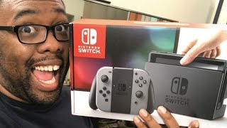 MY NINTENDO SWITCH UNBOXING #NintendoSwitch