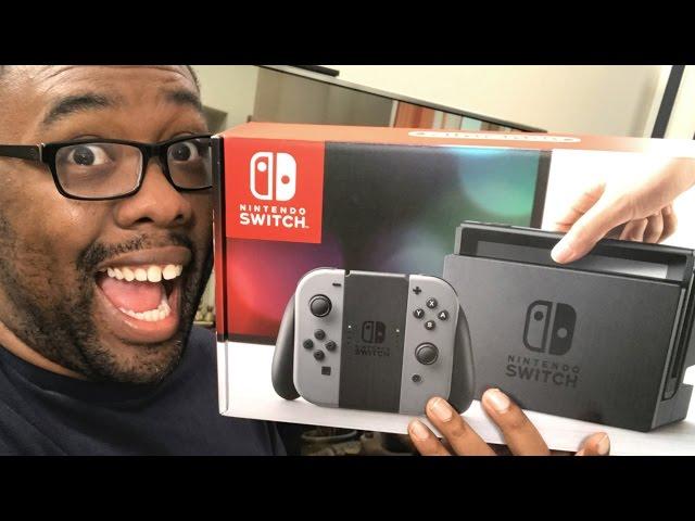 MY NINTENDO SWITCH UNBOXING #NintendoSwitch