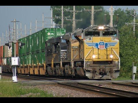 Union Pacific: Railfanning the Geneva Sub Vol 1