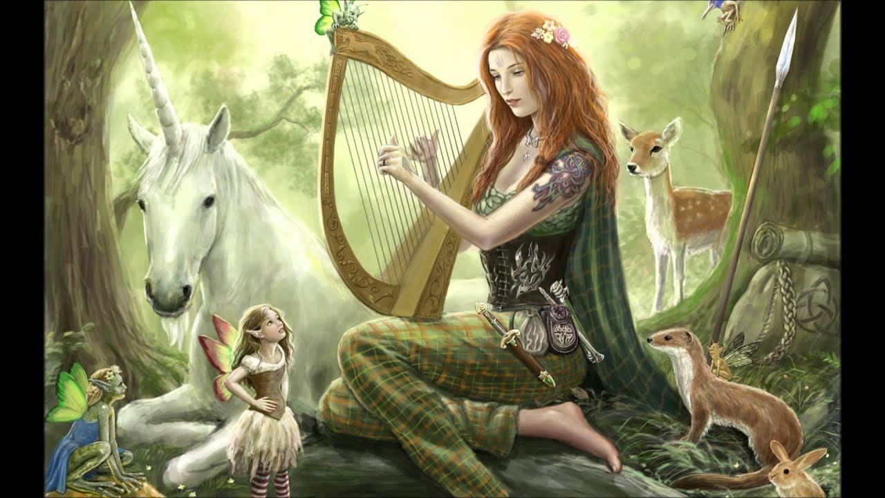 The Best Relaxing Music Fantasy Harp Music Calm Music Youtube