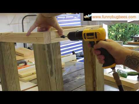 HowTo: Build a Heavy Duty Bee Hive Stand
